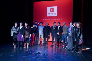 Galardonados Premios Escenarios 2012 foto Agustín Hurtado