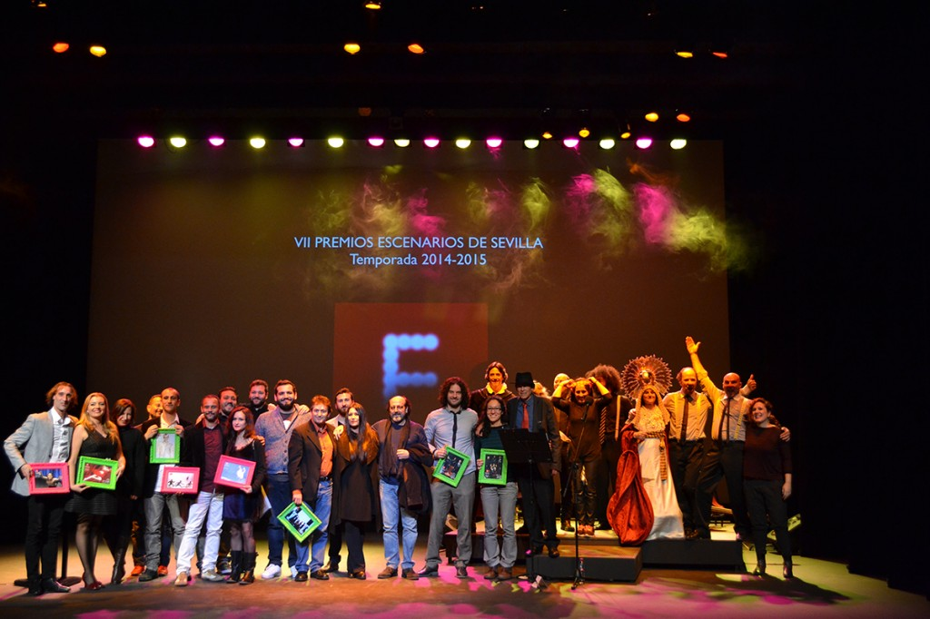 Clausura fest entrega de los premios escenarios de for Sala fundicion programacion